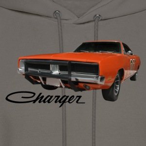 Khaki auto_dodge_charger_rgb_01 T-Shirts (Short sleeve) - Men's Hoodie