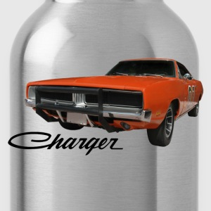 Khaki auto_dodge_charger_rgb_01 T-Shirts (Short sleeve) - Water Bottle