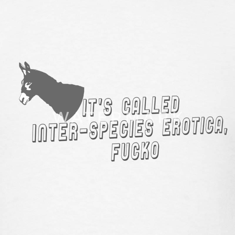 Inter-Species Erotica Tee - Men's T-Shirt