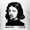 Thomas Tallis Portrait - Men's T-Shirt