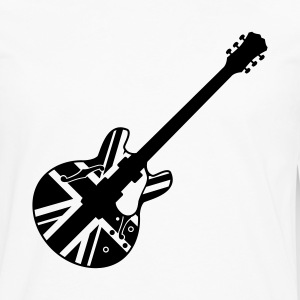 union jack guitar - Men's Premium Long Sleeve T-Shirt