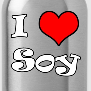 I Heart Soy - Water Bottle