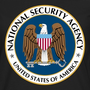 National Security Agency Logo - Men's Premium Long Sleeve T-Shirt