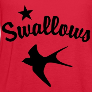 Red Swallows Women - Women's Flowy Tank Top by Bella