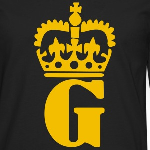 Black Crown - G – Name Men - Men's Premium Long Sleeve T-Shirt