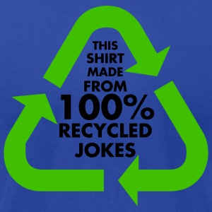 Moss 100% Recycled Jokes Women - Men's T-Shirt by American Apparel