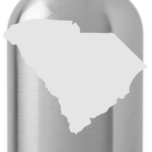 Slate State of South Carolina solid Men - Water Bottle
