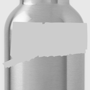 Black State of Connecticut solid Men - Water Bottle