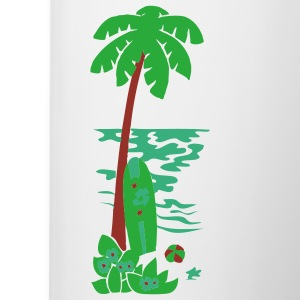 Island Palm - Coffee/Tea Mug
