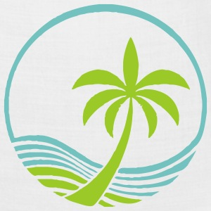 Ocean and Palm Tree - Bandana