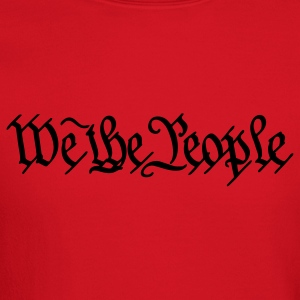 Brown We the People US Constitution Men - Crewneck Sweatshirt