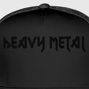 Black Heavy Metal Women - Trucker Cap