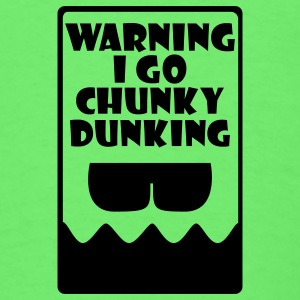 Mint green Chunky Dunking Warning Baby Body - Men's T-Shirt