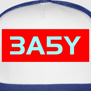 White easy_2col_us_t Men - Trucker Cap
