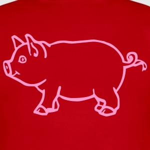 Red pig Kids & Baby - Short Sleeve Baby Bodysuit