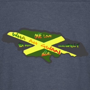 Green speak jamaican Men - Vintage Sport T-Shirt