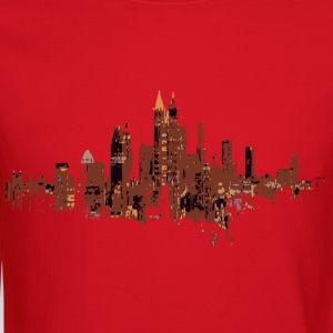 Lemon atlanta cityscape design Men - Crewneck Sweatshirt