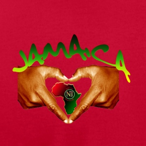 Jamiaca One Love - Men's T-Shirt by American Apparel
