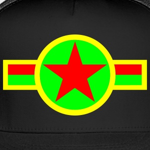 Black rasta_star_t Hoodies - Trucker Cap