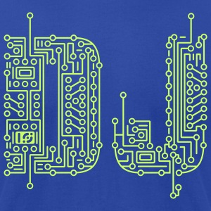 Moss dj_circuit_t Tanks - Men's T-Shirt by American Apparel
