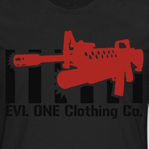 M4 Assault Rifle T-Shirts - Men's Premium Long Sleeve T-Shirt