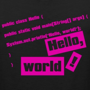 Hello, World! - Men's Premium Tank