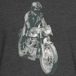 Asphalt motorcycle cafe racer T-Shirts (Short sleeve) - Men's Long Sleeve T-Shirt