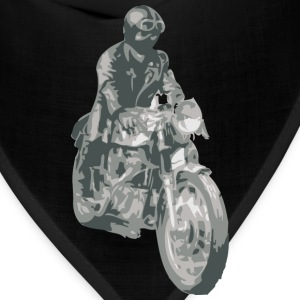 Asphalt motorcycle cafe racer T-Shirts (Short sleeve) - Bandana