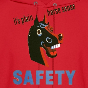 Lemon horse sense funny safety shirt T-Shirts (Short sleeve) - Men's Hoodie