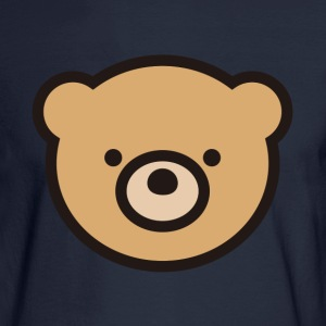 The stuffed toy of the bear - Men's Long Sleeve T-Shirt