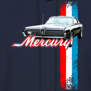 Navy auto_mercury_cougar_2 T-Shirts (Short sleeve) - Men's Hoodie
