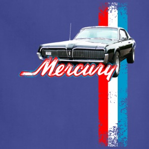 Navy auto_mercury_cougar_2 T-Shirts (Short sleeve) - Adjustable Apron