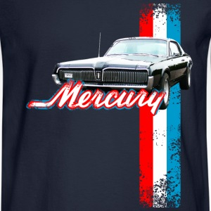 Navy auto_mercury_cougar_2 T-Shirts (Short sleeve) - Men's Long Sleeve T-Shirt