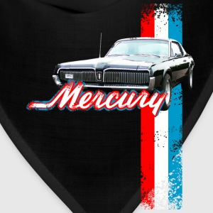 Navy auto_mercury_cougar_2 T-Shirts (Short sleeve) - Bandana