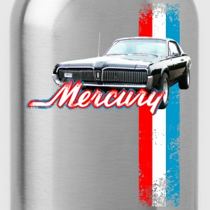 Navy auto_mercury_cougar_2 T-Shirts (Short sleeve) - Water Bottle
