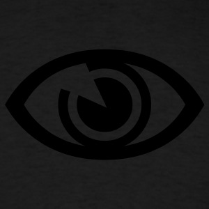 Powder blue eye Tees (Long sleeve) - Men's T-Shirt