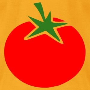 Creme tomato Bags  - Men's T-Shirt by American Apparel