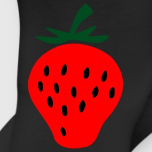 Black strawberry Junior's Tees - Leggings