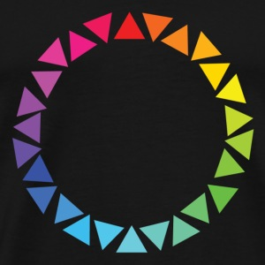 Pride Unity Circle - Men's Premium T-Shirt