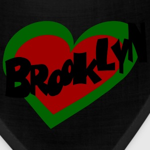 Red Brooklyn Heart Kids Shirts - Bandana