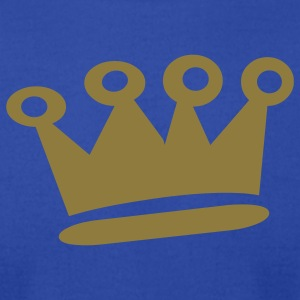 Gold Crown - Men's T-Shirt by American Apparel