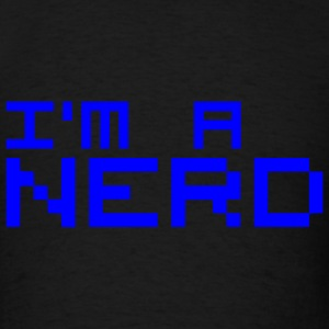 Black I´m a nerd Bags  - Men's T-Shirt