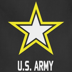 U.S.  Army Star tank top for woman - Adjustable Apron
