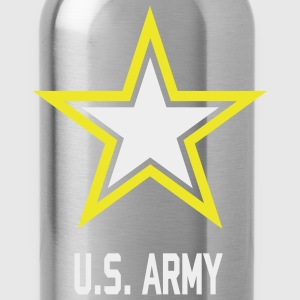 U.S.  Army Star tank top for woman - Water Bottle