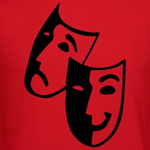 Raspberry Masks - Theater - Actor Junior's Tees - Crewneck Sweatshirt