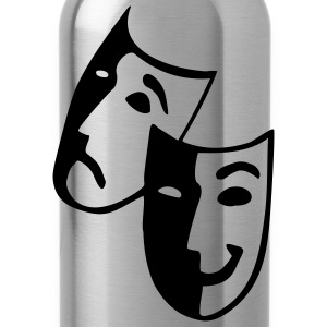 Raspberry Masks - Theater - Actor Junior's Tees - Water Bottle