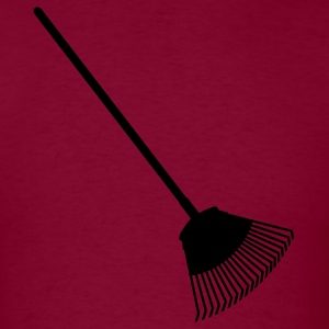 Burgundy rake Hoodies - Men's T-Shirt