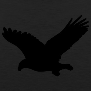 Black eagle wings T-Shirts (Short sleeve) - Men's Premium Tank