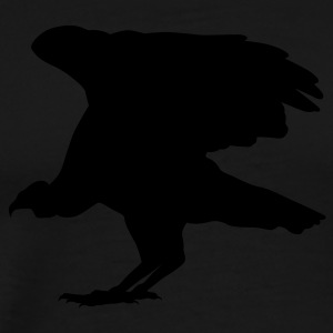 Black buzzard Tees (Long sleeve) - Men's Premium T-Shirt
