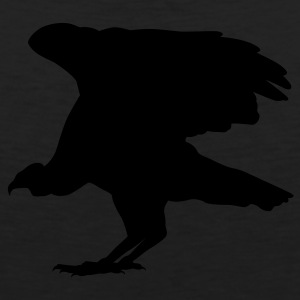 Black buzzard Tees (Long sleeve) - Men's Premium Tank